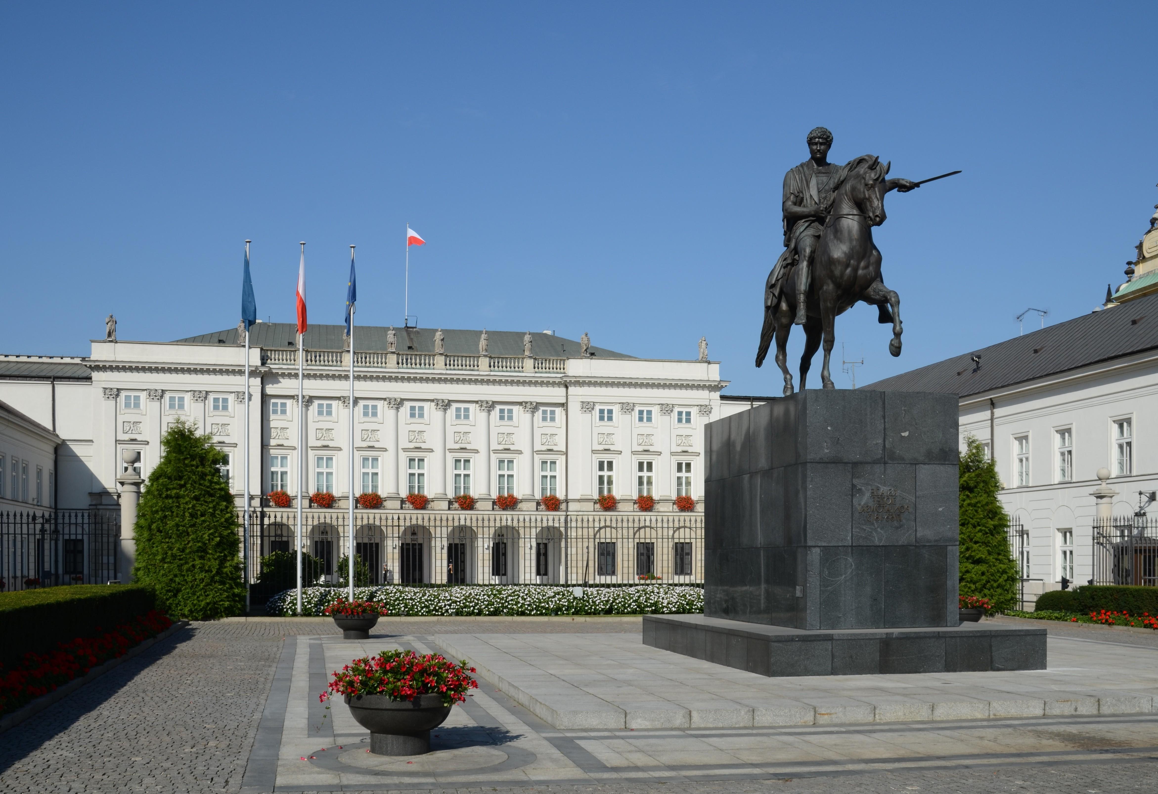 Warszawa_Pałac_Prezydencki_2011