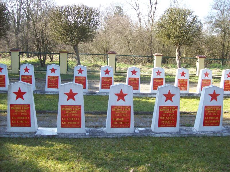 Братские могилы советских солдат. Что с ними?