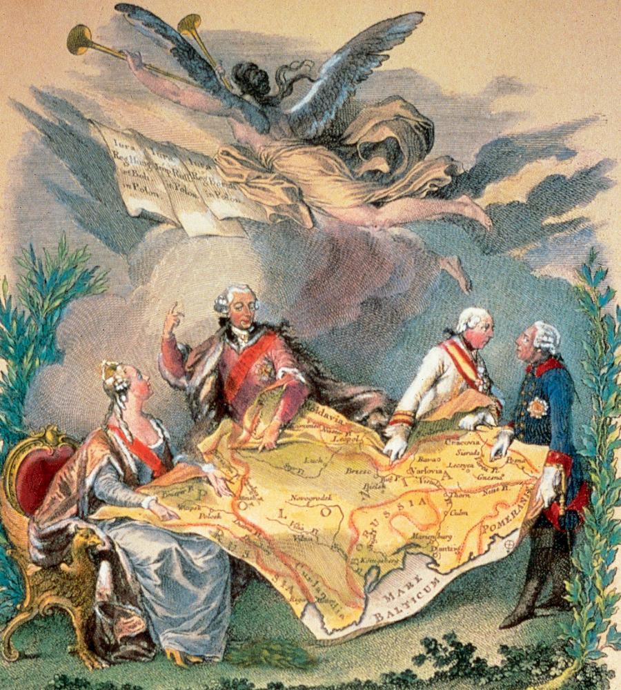 Раздел Польши 1772