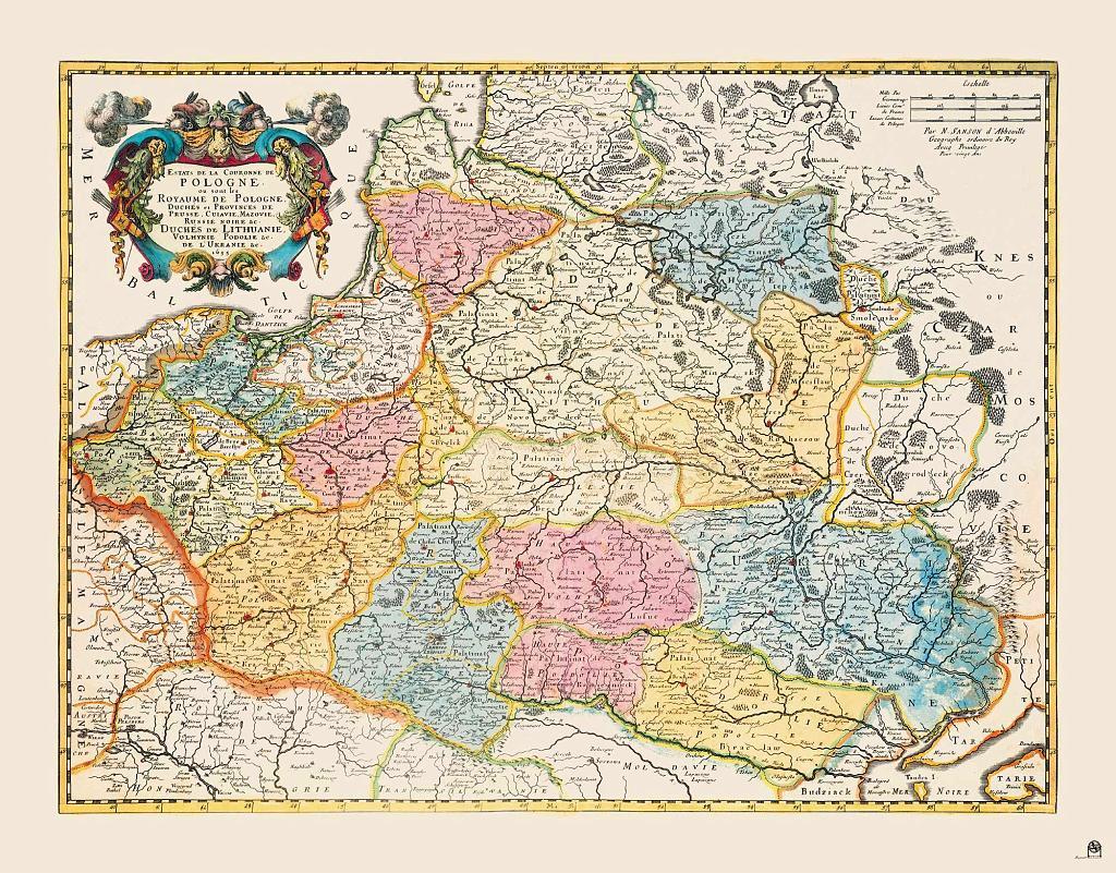 Бывшие территории Польши