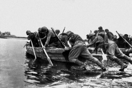 Форсирование Вислы 1944