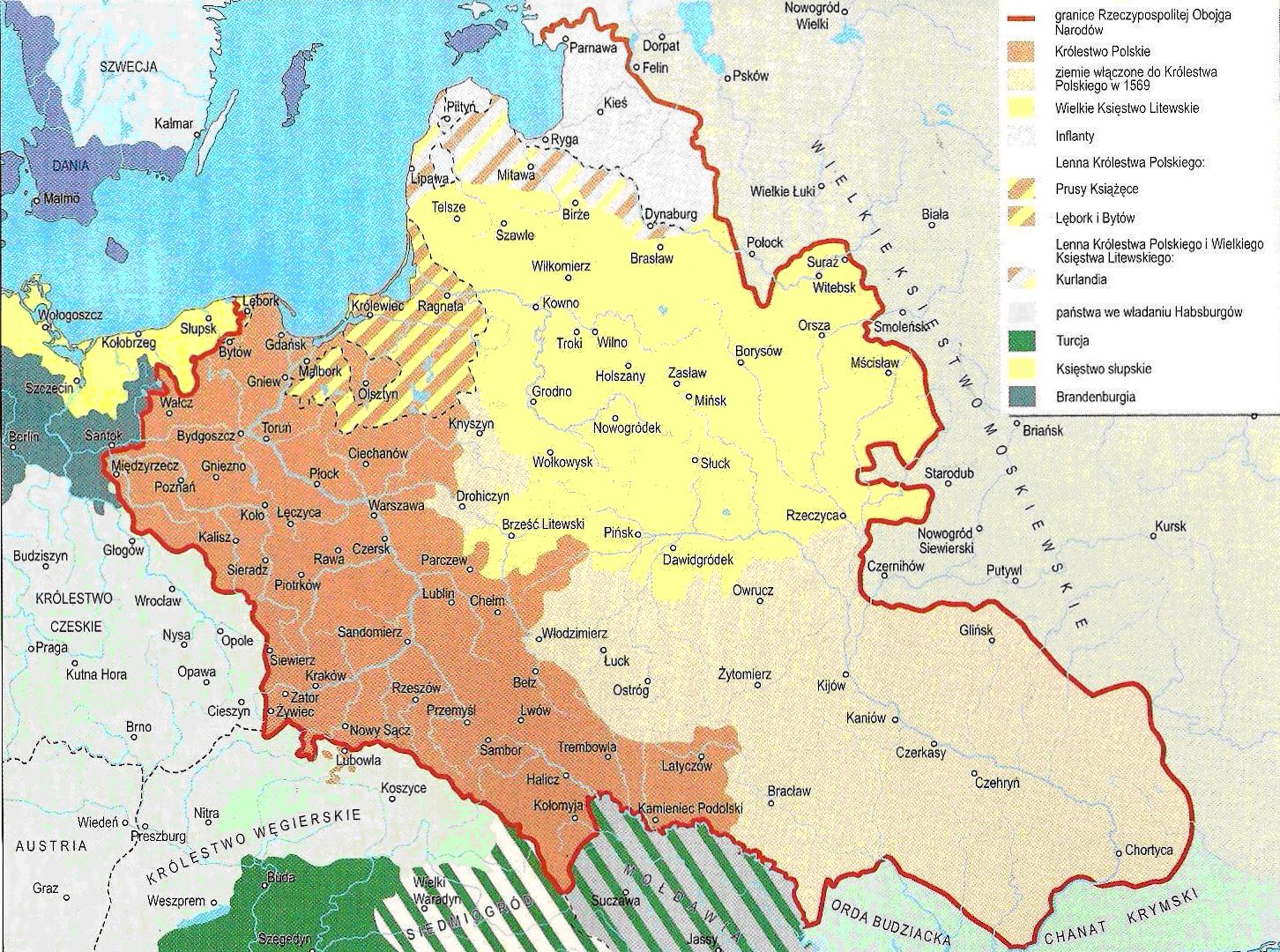 unia mapa